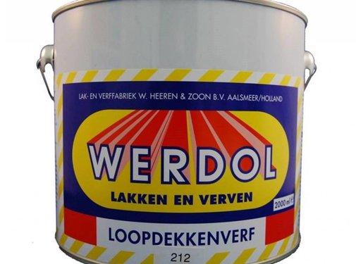 Werdol Loopdekkenverf