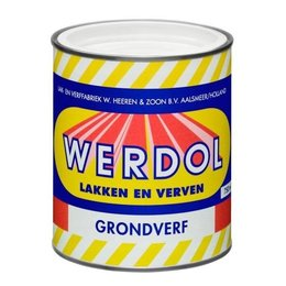 Werdol Grondverf (0.75, 2 of 4 liter)