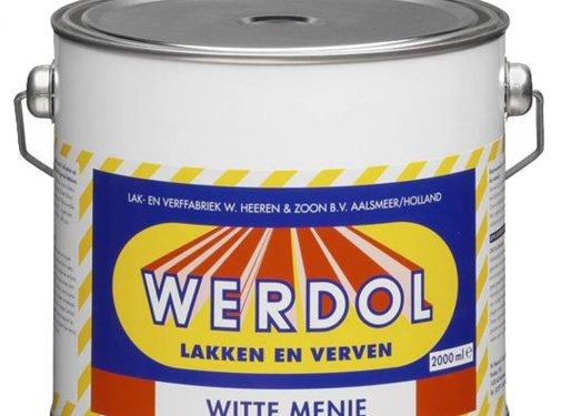 Werdol Witte Menie (0.75, 2 of 4 liter)