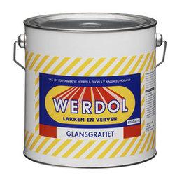 Werdol Glansgrafiet (4 liter)