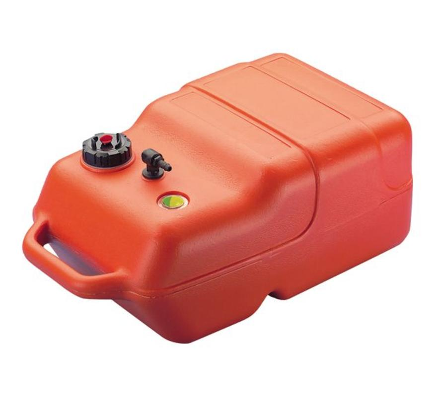 Brandstoftank buitenboordmotor inclusief 2 meter slang (met balg)