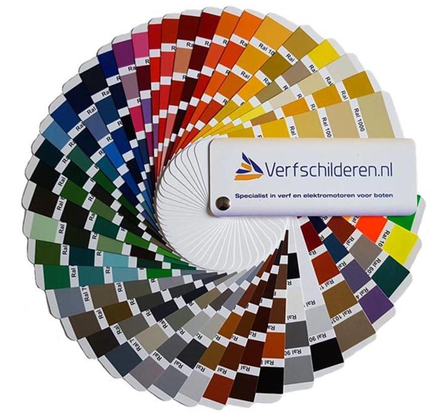 Ral Kleurenwaaier met de 213 standaard ral-kleuren