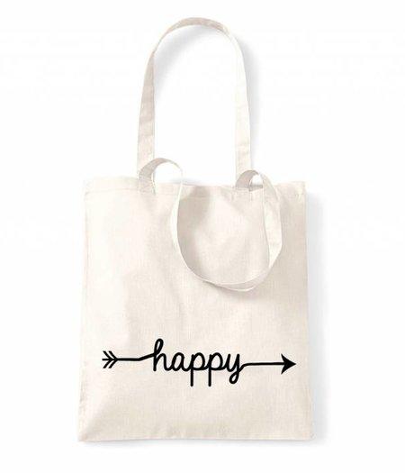 Stoffbeutel  HAPPY