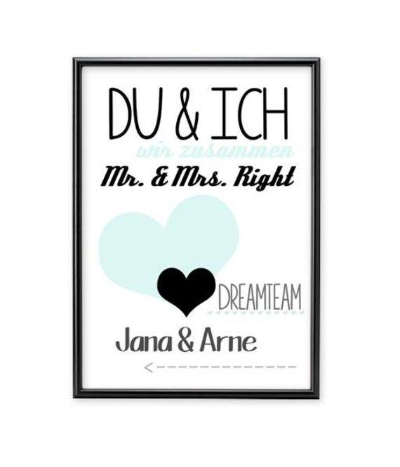 A4 Arprint - Poster * DU & ICH *