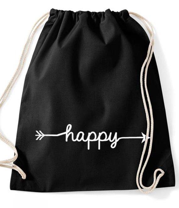Turnbeutel -Rucksack Happy