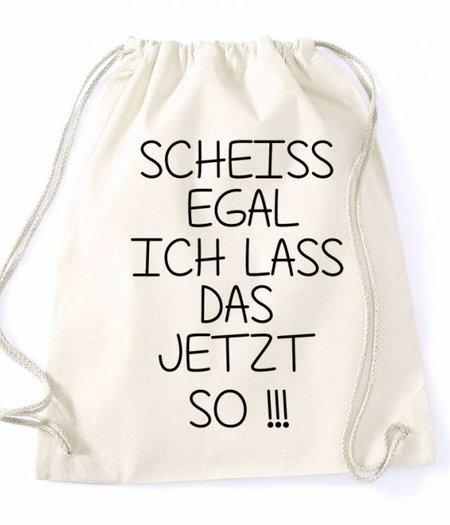 Turnbeutel - Rucksack Scheiss egal