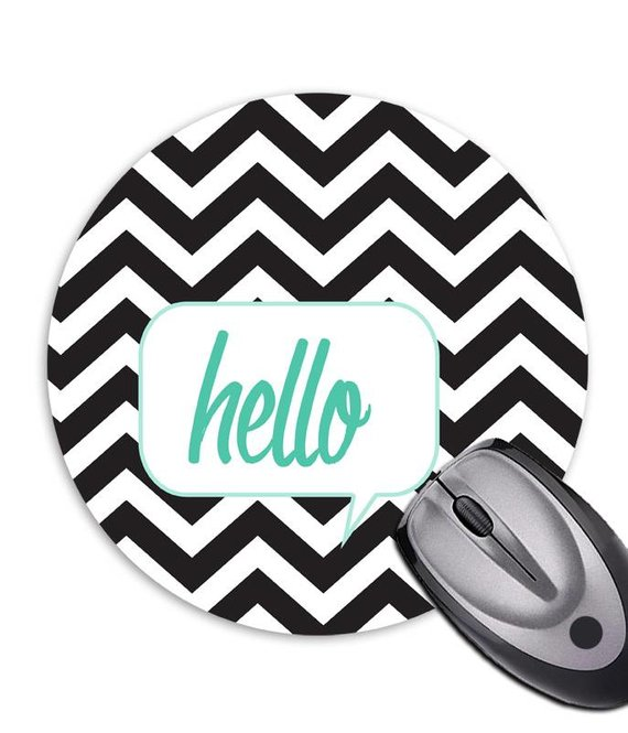 Mousepad * Hello * chevron