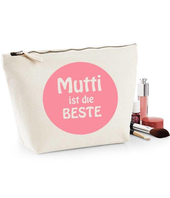 Kosmetiktasche 'Mutti ist die Beste'