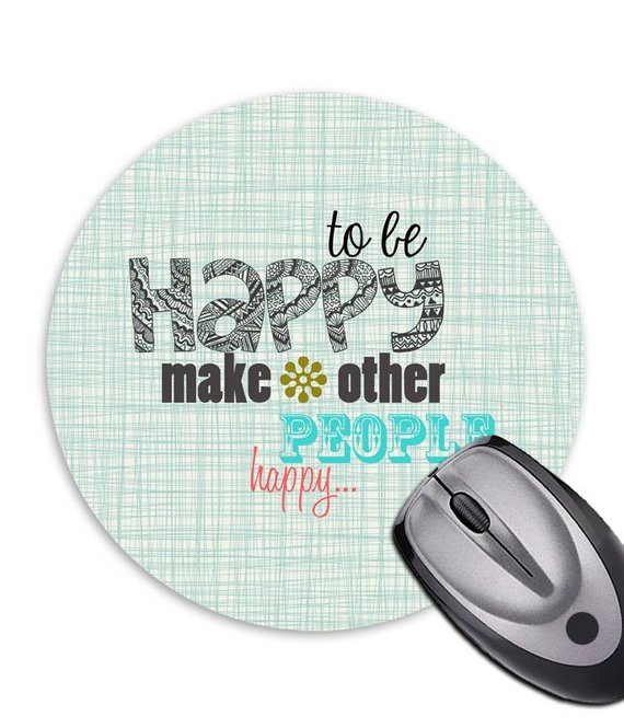 Mousepad * Be Happy *