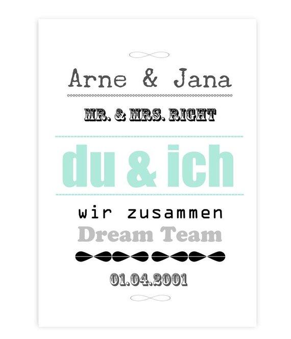 A4 Artprint * Du & Ich *