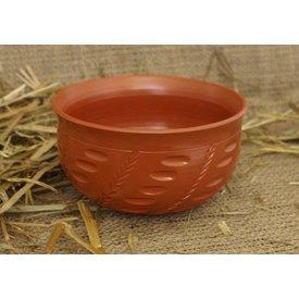 Bol romain avec motif de céréales (sigillé)