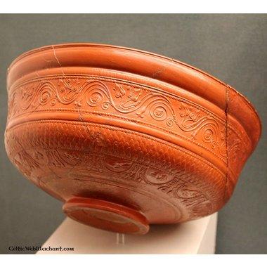 Roman bowl terra sigillata