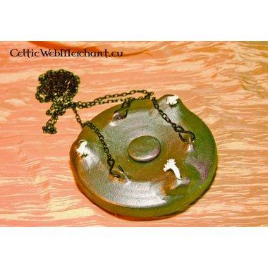 Lampe à huile en céramique