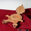 Lampada ad olio romana doppia