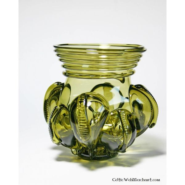 Norse claw glass, 6th century