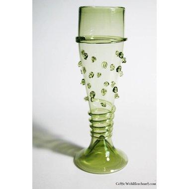 Bohemian glass, 14th century
