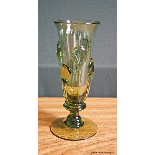Medieval glass, 14th-15th century