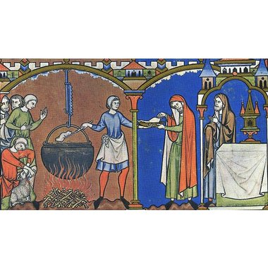 Medieval kettle