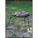 Campfire plate on legs
