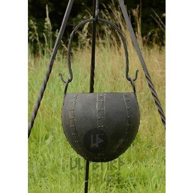 Chaudron, début du Moyen-Age, 10 litres