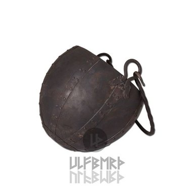 Early medieval cauldron, 10 litres