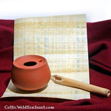 Roman inkwell terra sigillata