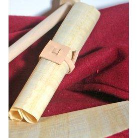 Chiusura classica per rotolo di pergamena