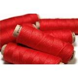 Filato di lino rosso, 50 m
