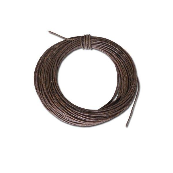 Correa de cuero crudo 1,75 mm, precio por metro.
