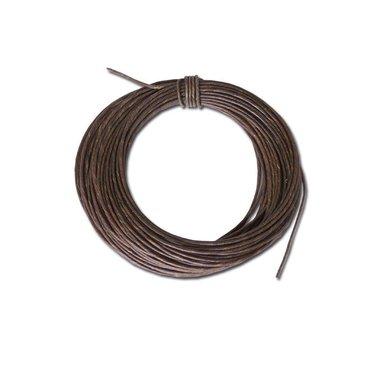 Correa de cuero 2,5 mm, precio por metro