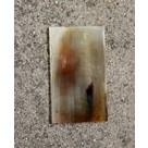 Piastra di corno 15 x 5 cm