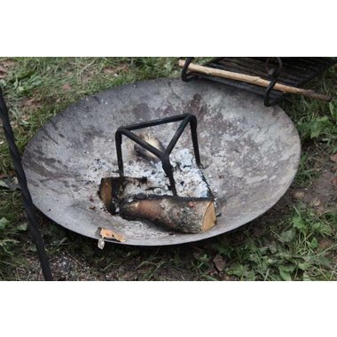 Campfire plate