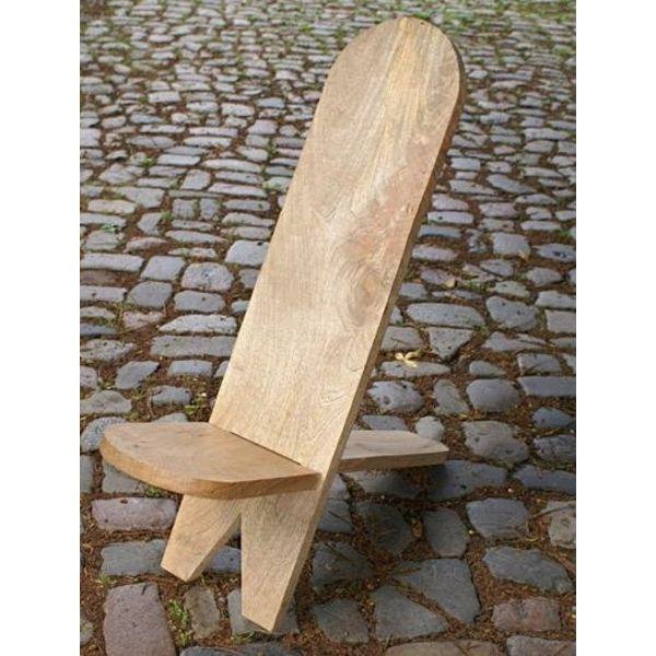 Chaise en bois