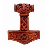 Thors hammer with face
