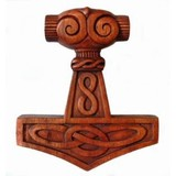 Thors hammer with knots