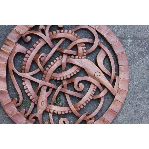 Serpiente Midgard madera