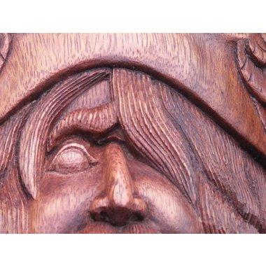 Wooden Odin