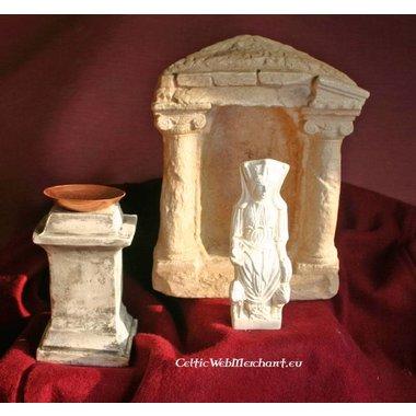 Statua votiva romana dea Cibele