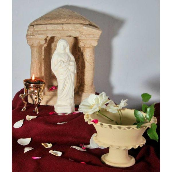 Votivo Romano estatua diosa Juno