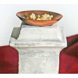 Bol romain en cuivre pour encens