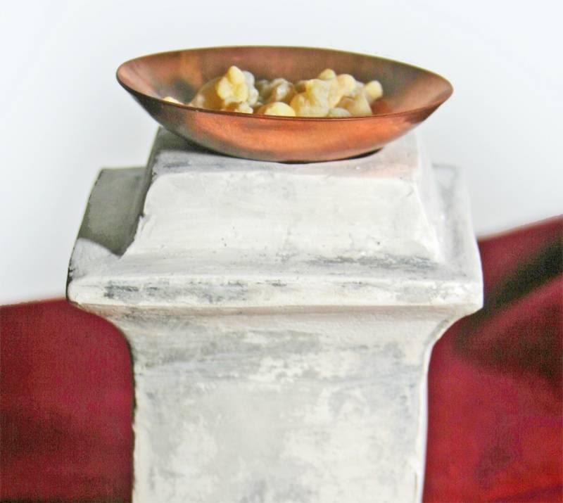 Romeinse wierookschaal koper - Outs idee open voor levende ...