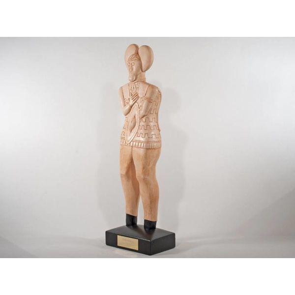 Statue celtique Glauberg