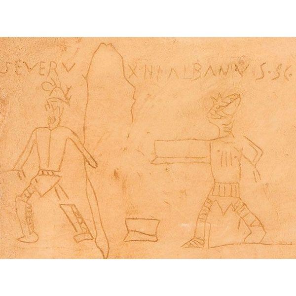 Graffiti de Gladiateurs, Pompéii
