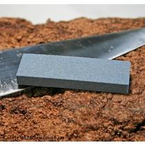 Triquetra seax of Damascus steel