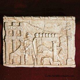 Relief gladiator kampe Circus Maximus
