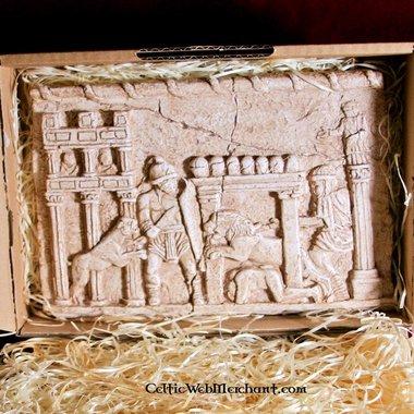 Relief Gladiateurs combattant, Circus Maximus