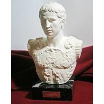 Romeinse leren beurs Barger Compascuum, donkerbruin