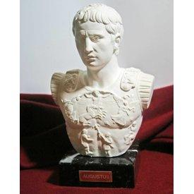 Buste af kejser Augustus Prima Porta