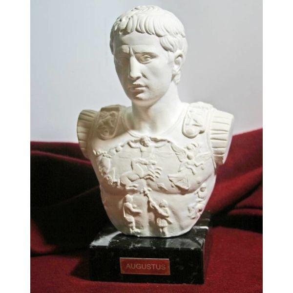 Busto imperatore Augusto di Prima Porta