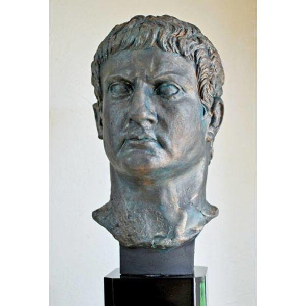 Busto in bronzo generale Marco Agrippa